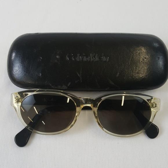 0d002dc679e Calvin Klein Accessories - Calvin Klein black 4002 sunglasses
